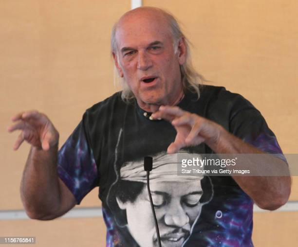 Former Minnesota Governor Jesse Ventura gave a speech to college students at the Kagin Commons Hill ballroom at Macalester College in St. Paul,...
