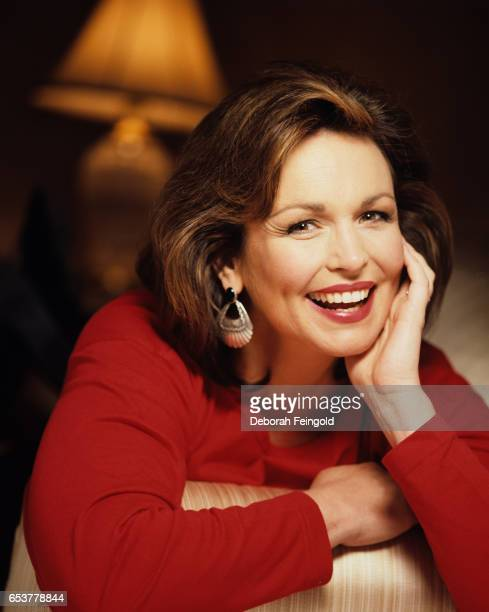 Former Miss America actress sports announcer and author Phyliss George poses for a portrait in May 1994 in New York City New York