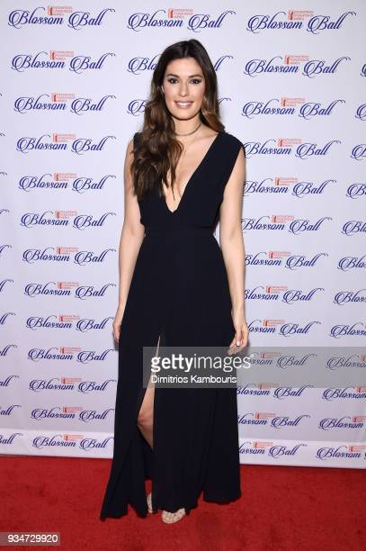Former Miss Canada Alice Panikian attends the Endometriosis Foundation of America's 9th Annual Blossom Ball at Cipriani 42nd Street on March 19 2018...