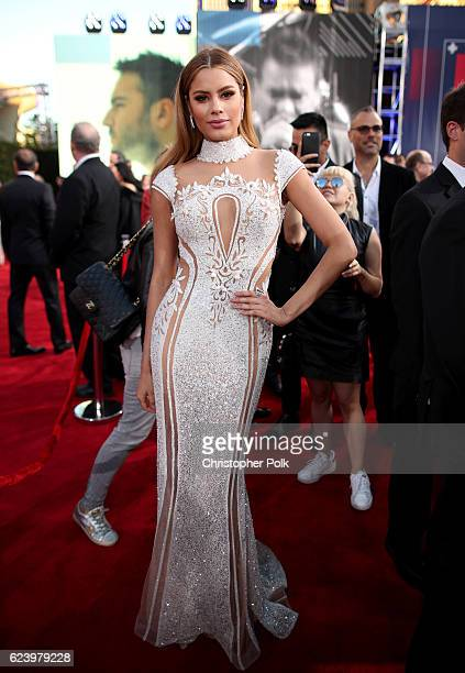 Former Miss Colombia Ariadna Gutierrez attends The 17th Annual Latin Grammy Awards at TMobile Arena on November 17 2016 in Las Vegas Nevada