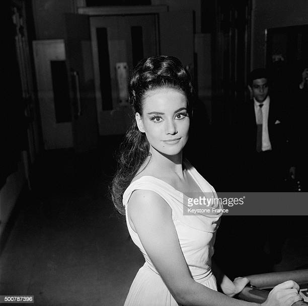 Former Miss France 1958 Claudine Auger is also an actress and she is studying classical French Theatre at the Conservatoire D'Art Dramatique of Paris...