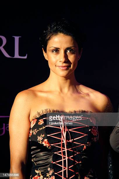 Former Miss India and actress Gul Panag attends a function hosted by Artic at The Bristol Hotel on June 28 2012 in Gurgaon India