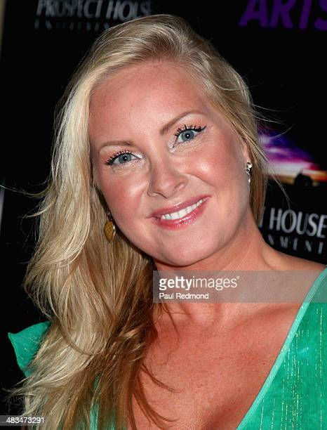 Former Miss International Anne Lena Hansen arrives at The Malcolm McDowell Series of QA Screenings Presents Time After Time at The Alex Theatre on...