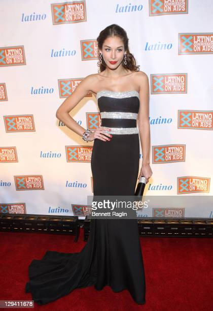 Former Miss Universe 2008 Dayana Mendoza attends the 2011 CIELO Gala at Cipriani Wall Street on May 10, 2011 in New York City.