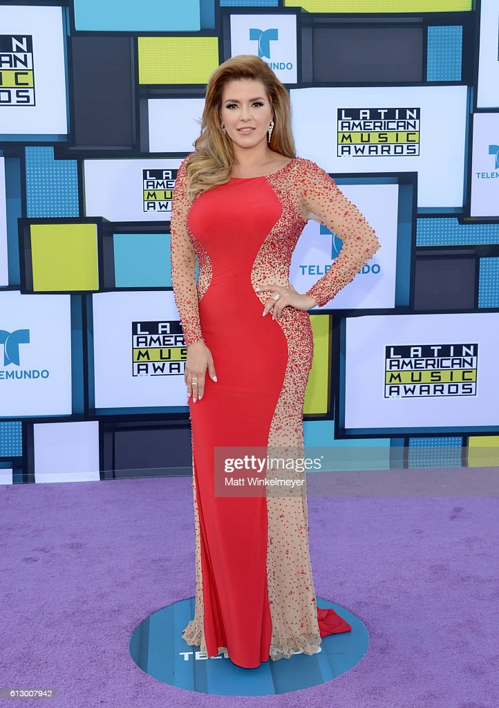 Former Miss Universe Alicia Machado attends the 2016 Latin American Music Awards at Dolby Theatre on October 6, 2016 in Hollywood, California.