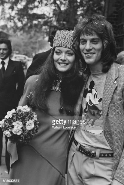 Former Miss World Rosemarie Frankland marries pop star Warren Entner on 12th October 1970