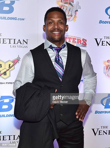 Former mixed martial artist Kevin Randleman arrives at the eighth annual Fighters Only World Mixed Martial Arts Awards at The Palazzo Las Vegas on...