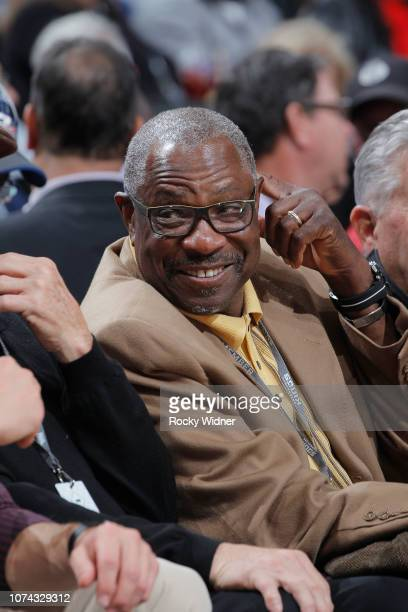 Former MLB manager Dusty Baker attends the game between the Minnesota Timberwolves and Sacramento Kings on December 12 2018 at Golden 1 Center in...