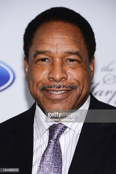 Former MLB player Dave Winfield attends Screen Gems Presents The Steve Marjorie Harvey Foundation Gala at Cipriani Wall Street on May 14 2012 in New...