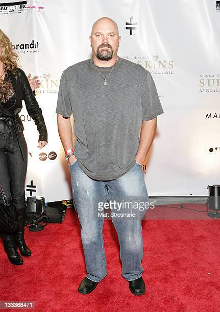 Former MLB Player David Wells arrives at the Super Skins Kickoff Party hosted by Nick Lachey and Jimmie Johnson at the Hula Bay Club on January 30,...