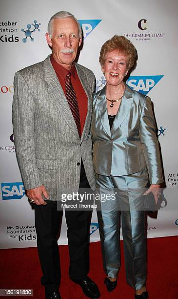Former MLB player Joe Rudi and wife Sharon Rudi attend the 8th All Star Celebrity Classic benefiting the Mr October Foundation for Kids at...