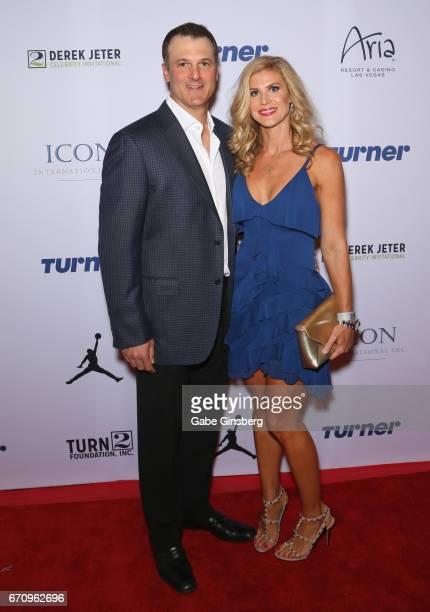 Paul Konerko Jennifer Wells Derek Jeter Celebrity ...