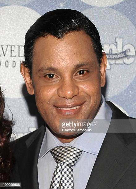 Former MLB player Sammy Sosa attends the People en Espanol Los 50 Mas Bellos party at Gustavino's on May 20 2010 in New York City