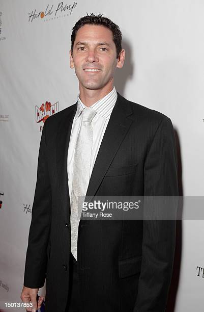 Former MLB player Shawn Green attends the 12th Annual Harold Pump Foundation Gala at the Hyatt Regency Century Plaza on August 10, 2012 in Century...