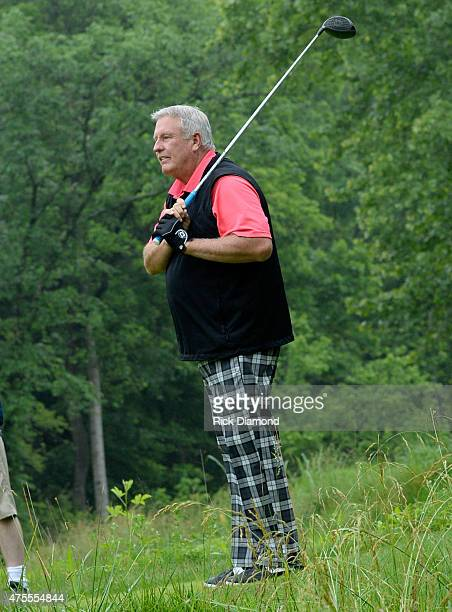 Former MLB player Tommy John attends The 23nd Annual Vinny ProCelebrityJunior Golf Invitational hosted by Vince Gill at the Golf Club of Tennessee on...