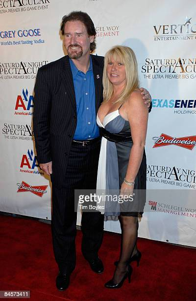 Former MLB player Wade Boggs and wife Debbie Boggs attend the 3rd Annual Saturday Night Spectacular hosted by Kevin Costner and Michael Strahan and...