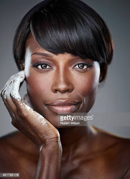 Former model and cook Lorraine Pascale is photographed for the Times on October 22, 2013 in London, England.
