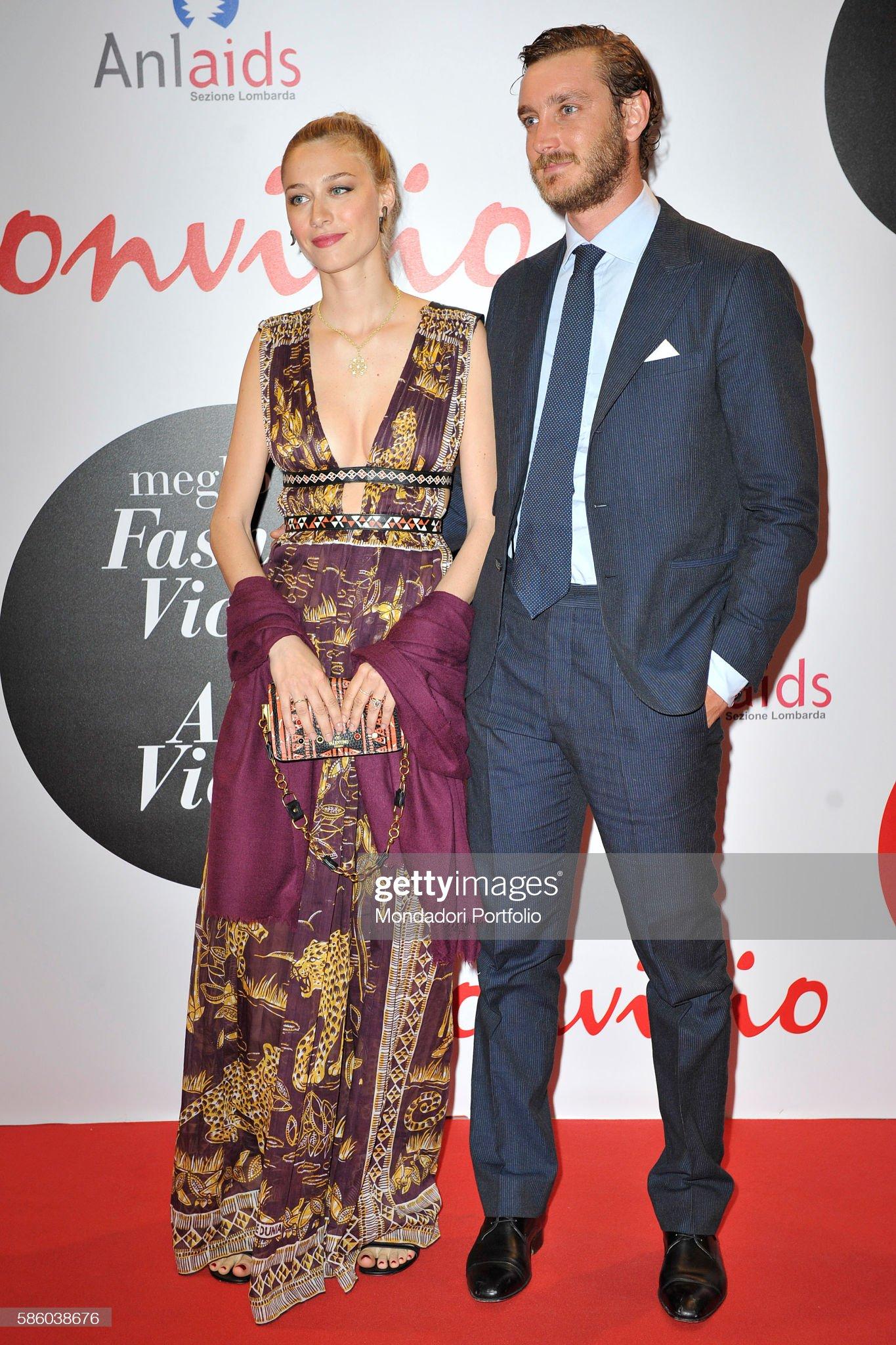 Beatrice Borromeo and Pierre Casiraghi at Convivio 2016 : News Photo