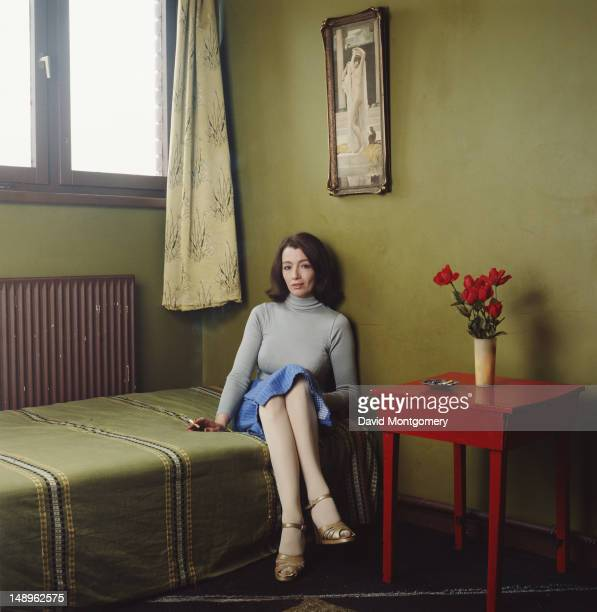 Former model and showgirl Christine Keeler, 1985. Her affair with War Secretary John Profumo in the early 60s was instrumental in the fall of the...