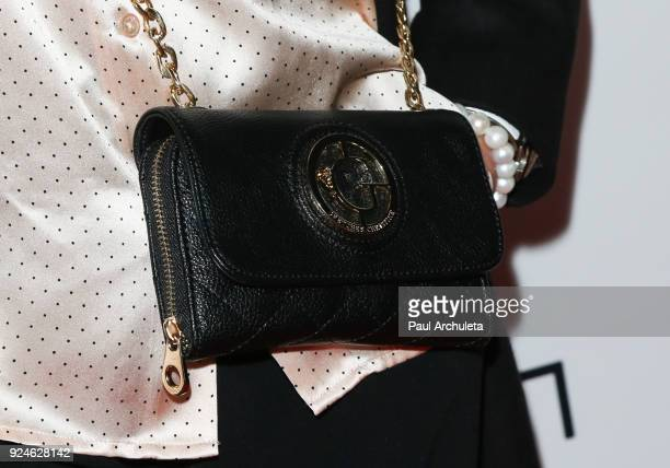 Former Model Janice Dickinson Handbag Detail attends the 'Gifting Your Spectrum' gala benefiting Autism Speaks on February 24 2018 in Hollywood...
