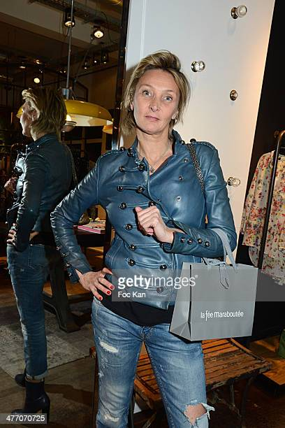 Former model Katia Leszczynska attends the 'J'Aime Ton Mari' Sylvie Bourgeois Book Launch Cocktail At La Fee Maraboutee on March 6 2014 in Paris...
