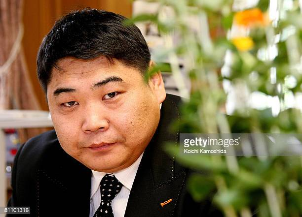 Former Mongolian Sumo wrestler Davaagiin Batbayar poses at Saitama Prefectural Government on May 15 2008 in Saitama Japan Batbayar who was known as...