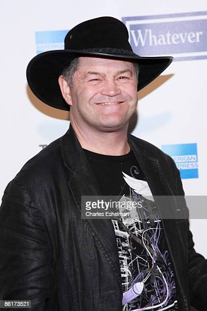 Former Monkees band member Micky Dolenz attends the 8th Annual Tribeca Film Festival Whatever Works premiere at Ziegfeld Theatre on April 22 2009 in...
