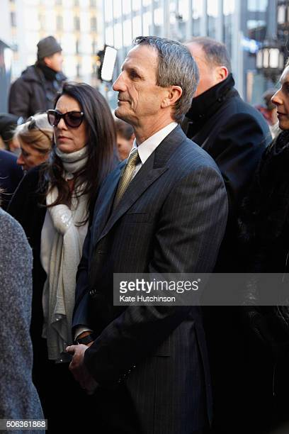Former Montreal Canadiens hockey team captain and team coach Guy Carbonneau attends the State Funeral Service for Celine Dion's Husband Rene Angelil...