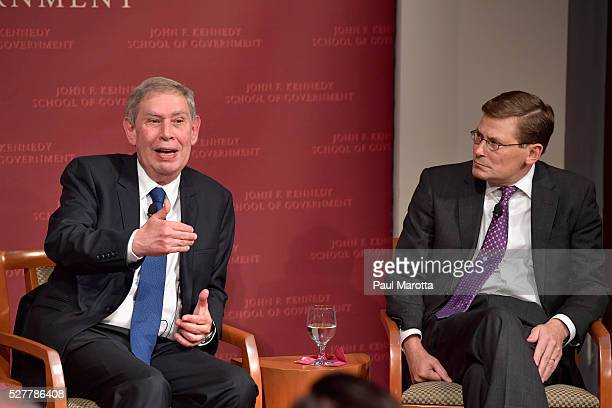 """Former Mossad Director Tamir Pardo and former US Central Intelligence Agency Acting Director Michael Morell discuss """"ISIS, Israel, and Spymasters: A..."""