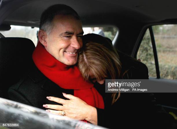 Former MSP Tommy Sheridan is hugged by his wife Gail as he leaves Castle Huntly Prisonnear Dundee after serving just over one year of his threeyear...