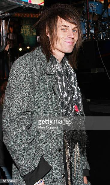 Former MTV VJ Jesse Camp attends MTV's TRL Total Finale Live at the MTV studios in Times Square on November 16 2008 in New York City