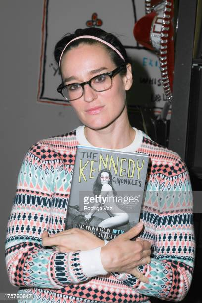 Former MTV VJ Kennedy attends a book signing for The Kennedy Chronicles at Book Soup on August 7 2013 in West Hollywood California