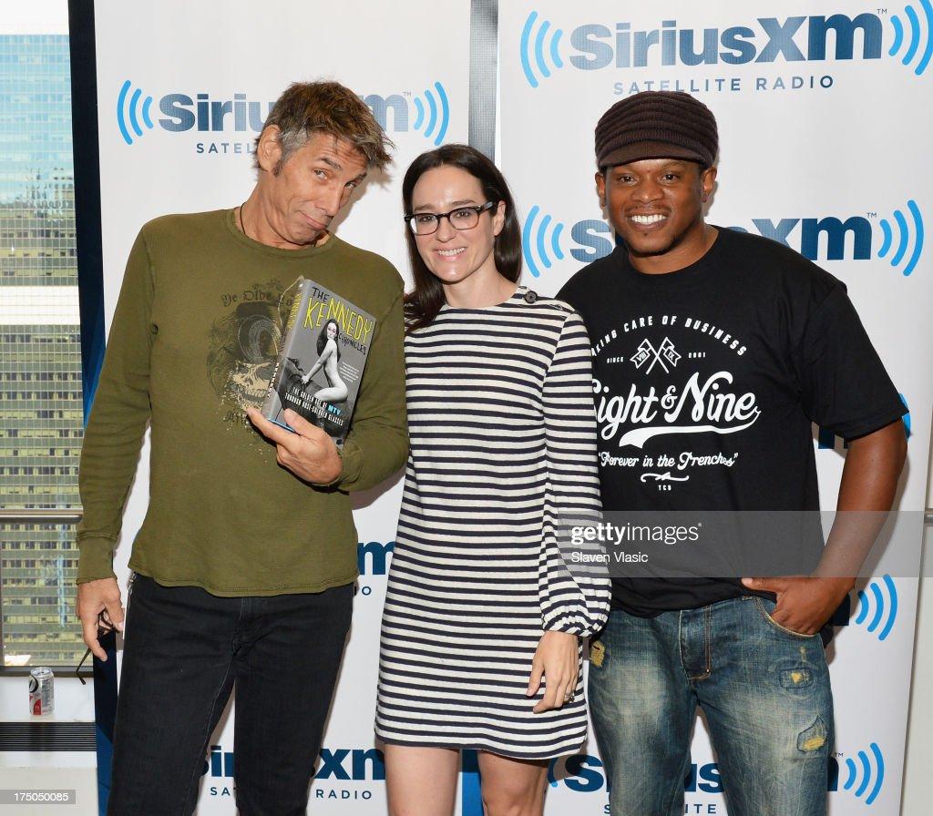 Celebrities Visit SiriusXM Studios - July 30, 2013