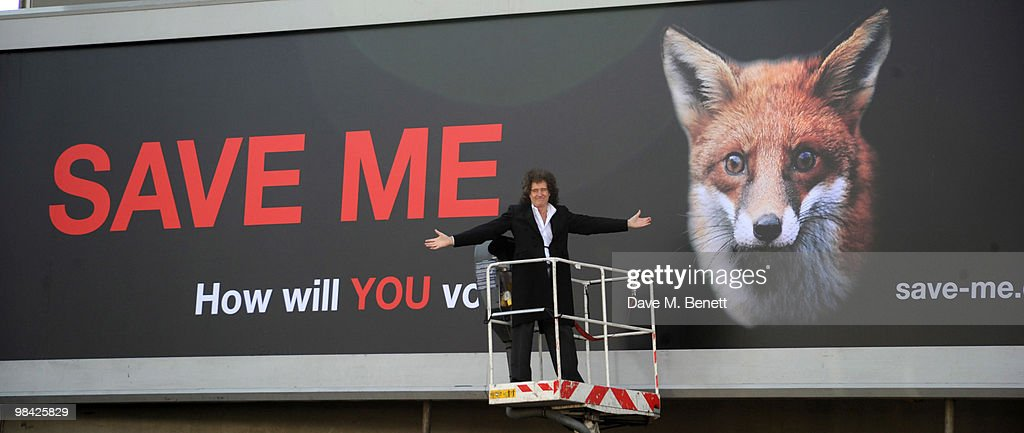 Brian May Launches The Save Me Campaign