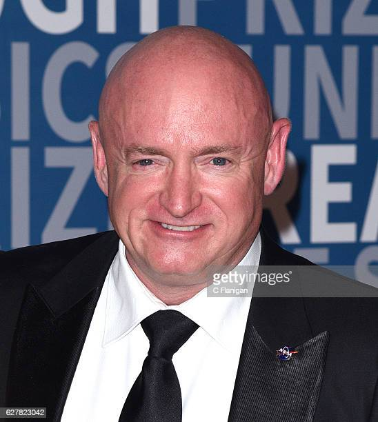 Former NASA Astronaut Mark Kelly attends the 2017 Breakthrough Prize at NASA Ames Research Center on December 4, 2016 in Mountain View, California.