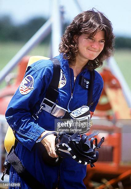 Former NASA astronaut Sally Ride died Monday July 23 after her battle with pancreatic cancer She was 61 In this 1983 file photo Ride participated in...