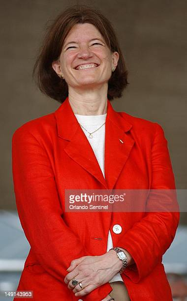 Former NASA astronaut Sally Ride died Monday July 23 after her battle with pancreatic cancer She was 61 In this 2003 file photo Ride smiles during...