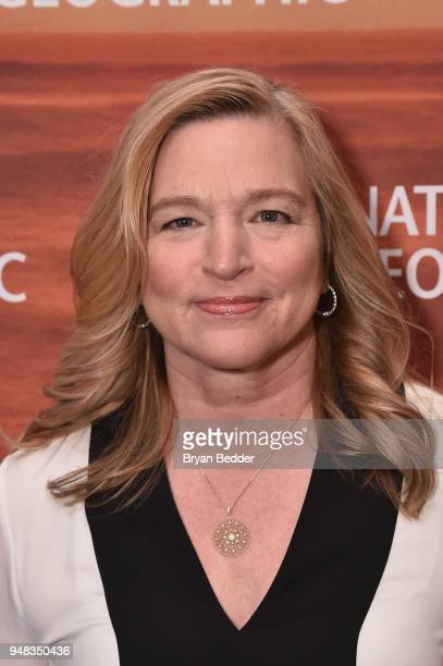 Former NASA Chief Scientist and Big Thinker Ellen Stofan of 'Mars Season 2' attends National Geographic's FURTHER Front immersive experience where...
