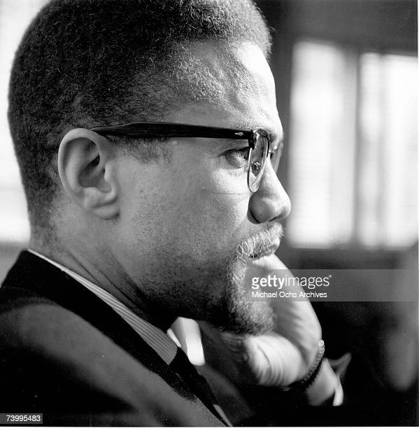 Former Nation Of Islam leader and civil rights activist ElHajj Malik ElShabazz poses for a portrait on February 16 in Rochester New York