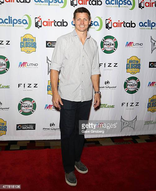 Former National Football League player Adam Archuleta attends the Raising the Stakes for Cerebral Palsy Celebrity Poker Tournament at Planet...