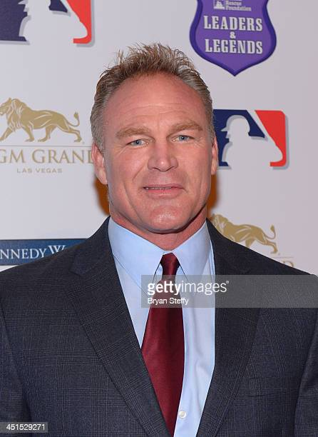 Former National Football League player and actor Brian Bosworth arrives at Tony La Russa's 2nd annual Leaders Legends gala benefitting Animal Rescue...