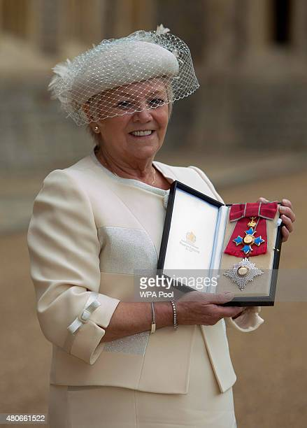 Former National Lottery boss Dame Dianne Thompson who was made a Dame Commander by the Princess Royal in recognition of her successful 14year period...