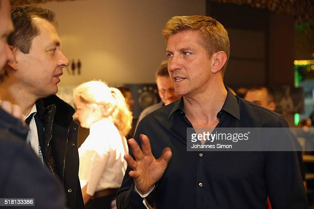 Former national player Marko Rehmer attends the Club of former national players meeting during the international friendly between Germany and Italy...