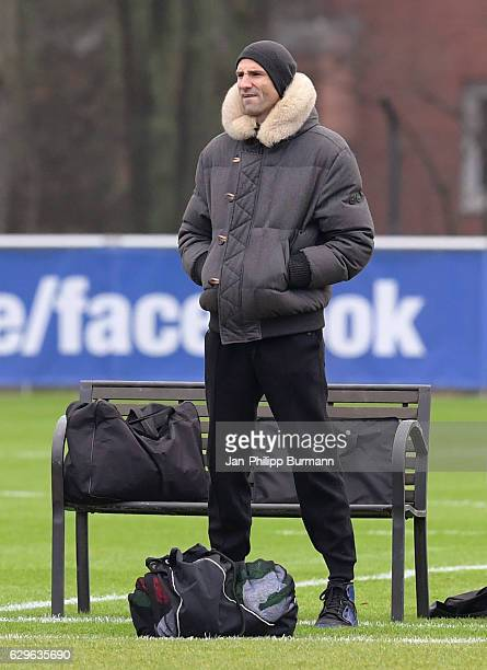 former national player of Croatia Andre Mijatovic during the training on december 14 2016 in Berlin Germany