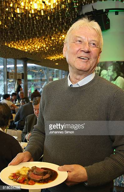 Former national player Wilfried Groebner attends the Club of former national players meeting during the international friendly between Germany and...