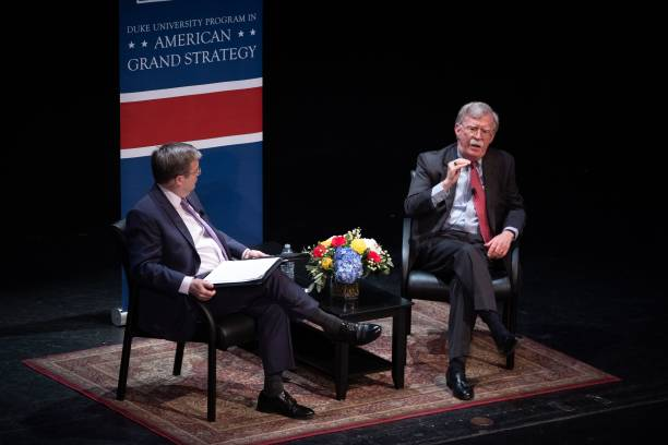 NC: Former White House Nat'l Security Adviser John Bolton Speaks At Duke University Forum