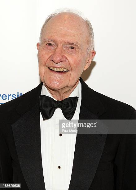Former National Security Advisor Lt Gen Brent Scowcroft PhD attends the National Defense University Foundation's International Statesman and Business...