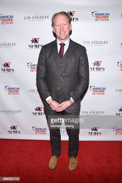 Former Navy SEAL and Valor Award honoree Robert J. O'Neill attends the Salute to Heroes Service Gala to benefit the National Foundation for Military...