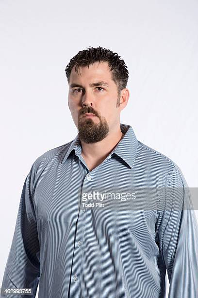Former Navy SEAL Marcus Luttrell is photographed for USA Today on December 5 2013 in New York City