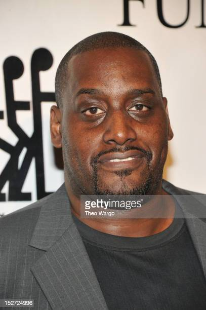 Former NBA basketball player Anthony Mason attends the 27th Annual Great Sports Legends Dinner to benefit the Buoniconti Fund to Cure Paralysis at...